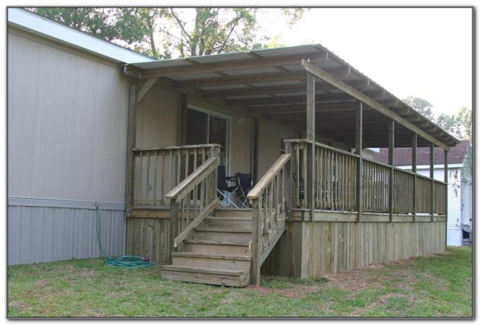 Deck For Mobile Home