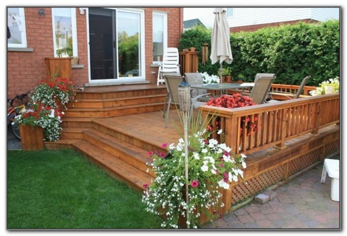 Deck Ideas For Small Backyards
