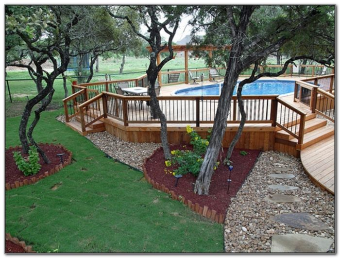 Deck Images For Above Ground Pool