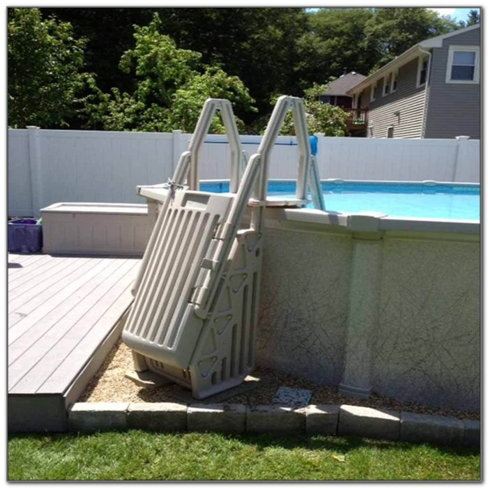 Deck Ladders For Above Ground Pools