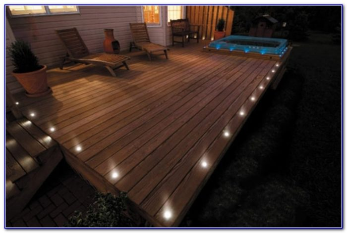 Deck Lighting For Aluminum Railings