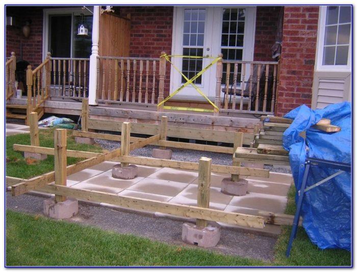 Deck Over Concrete Patio