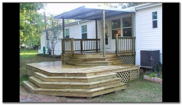 Deck Plans For Mobile Homes