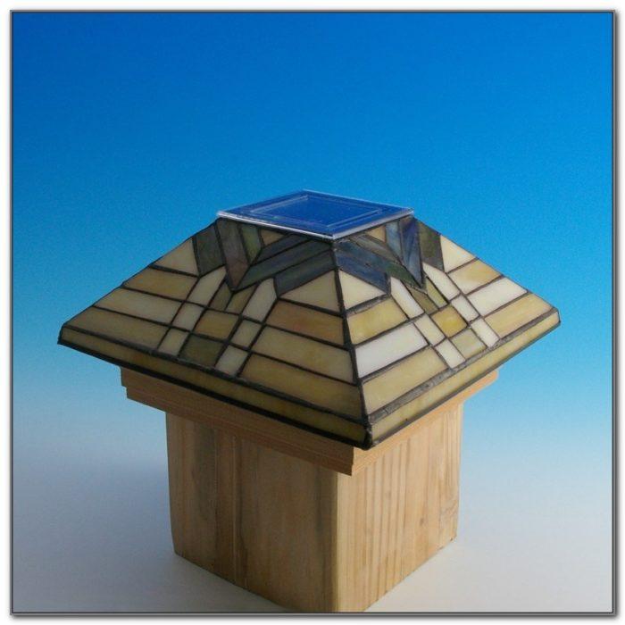 Deck Post Lights Solar