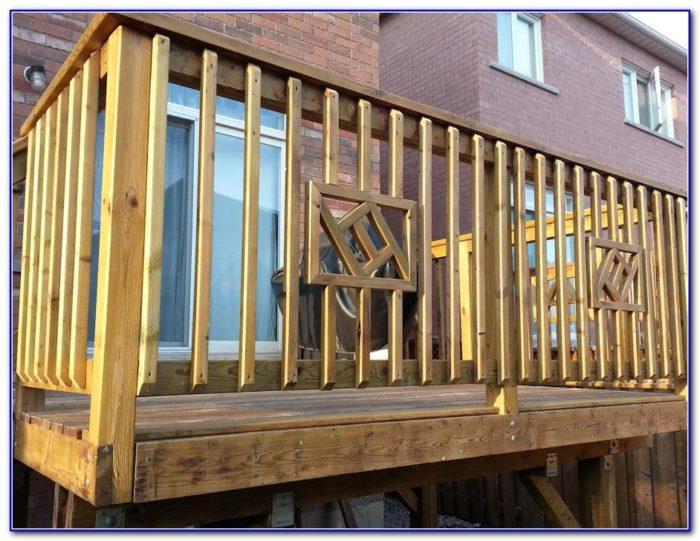 Deck Rail Design Ideas