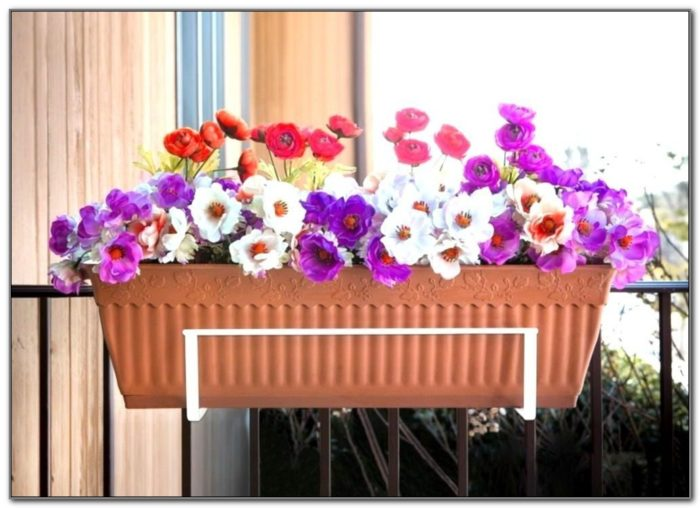 Deck Rail Flower Boxes