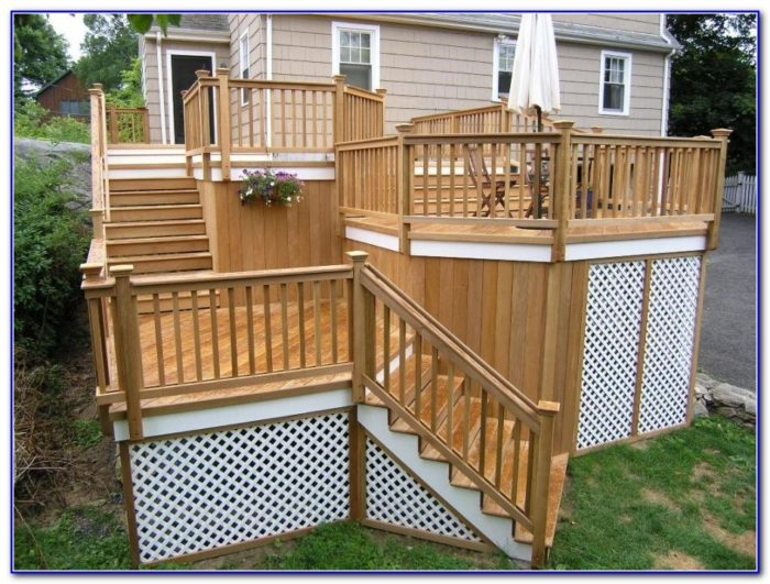 Deck Railing Designs Wood
