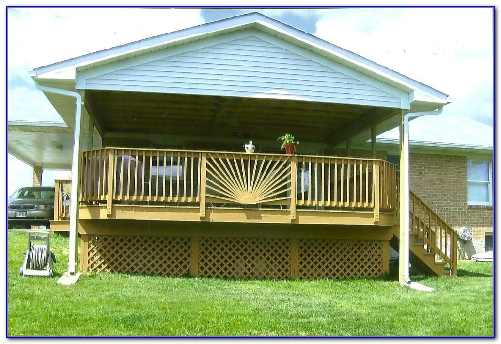 Deck Railing Installation Ideas