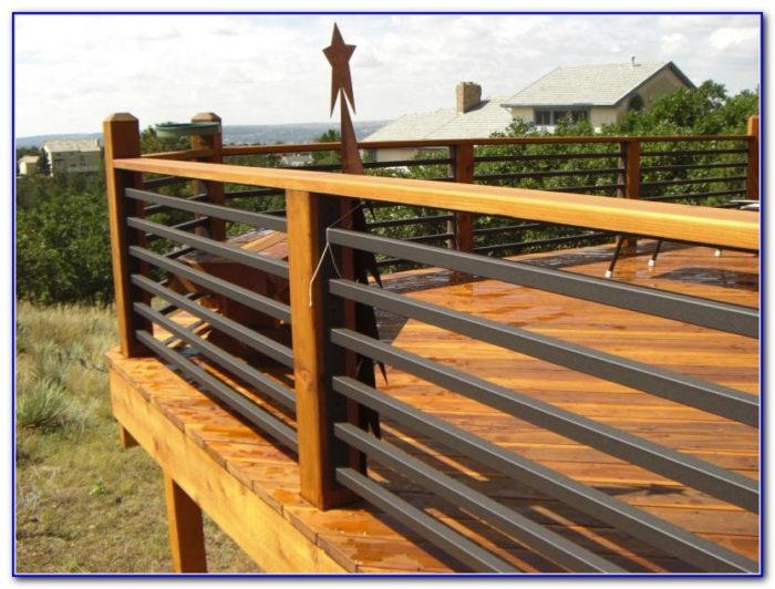 Deck Railing Metal Spindles