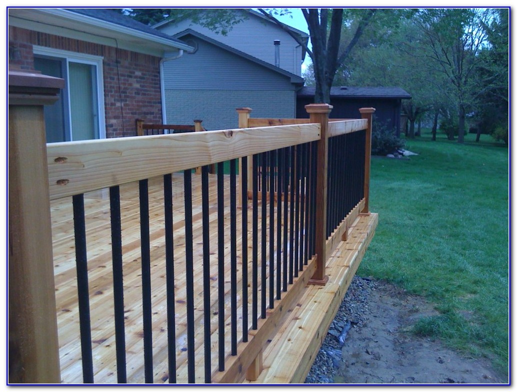 Deck Railing Styles Ideas