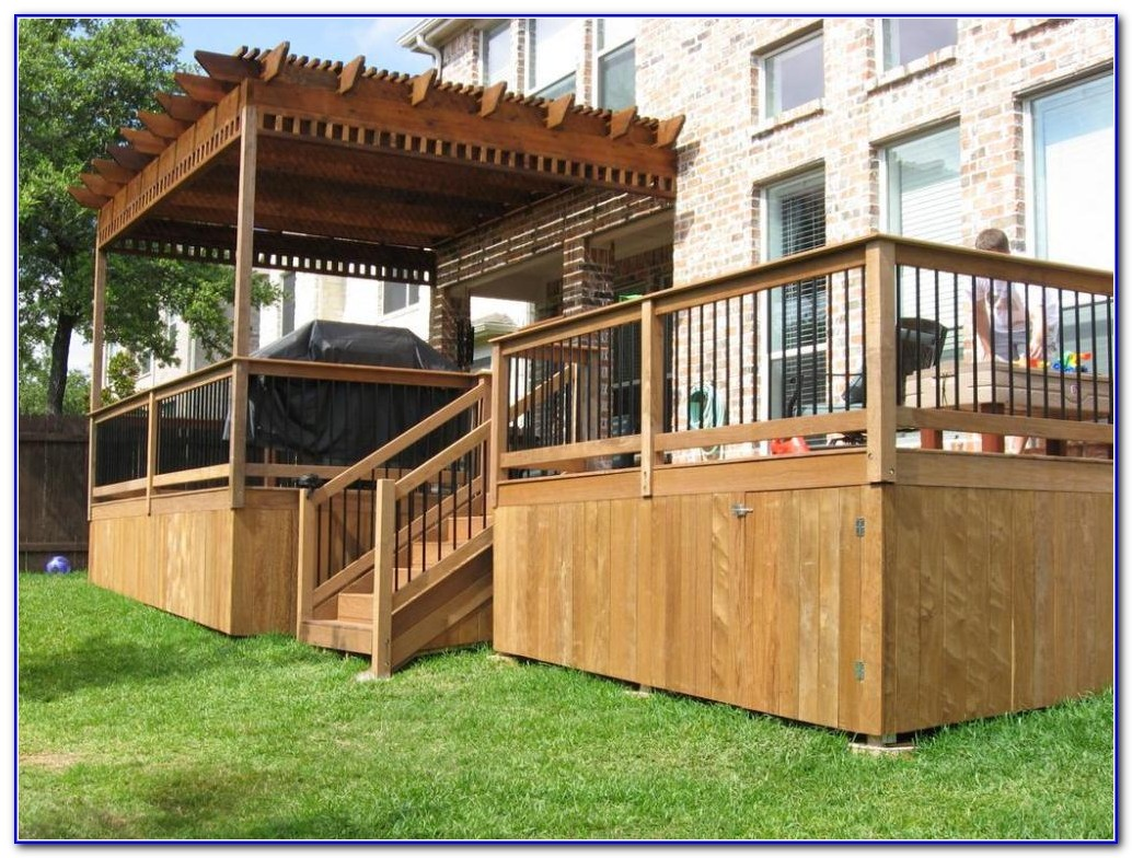 Deck Skirting Ideas Other Than Lattice