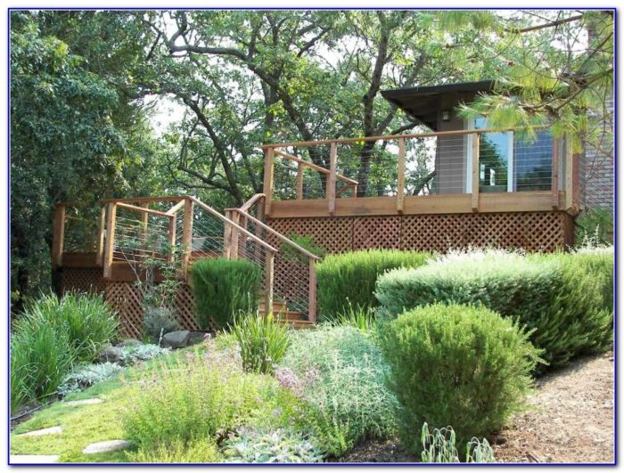 Deck Stair Railings Construction