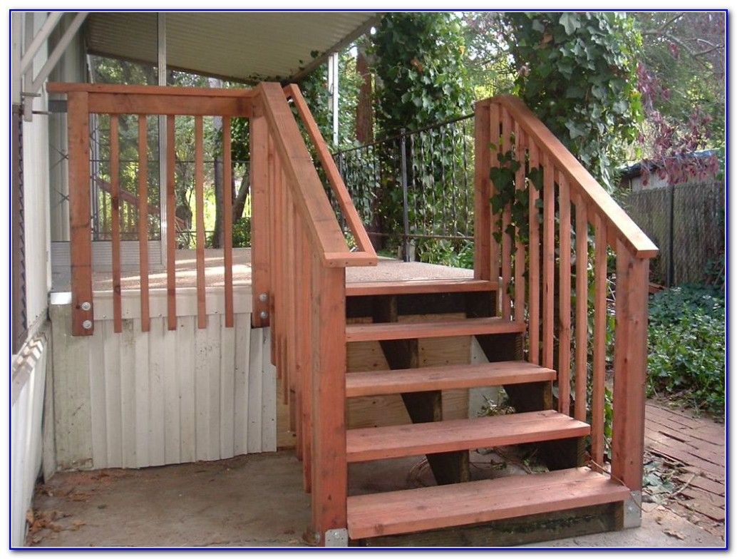Deck Stair Railings Ideas