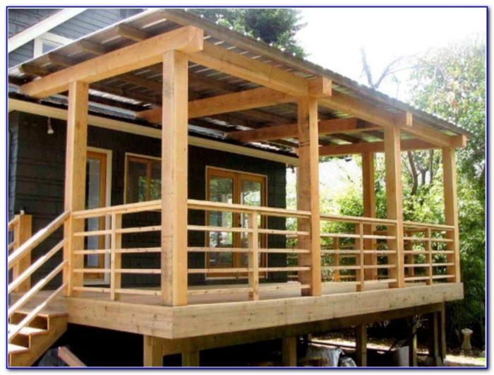 Deck Stairs Railing Code