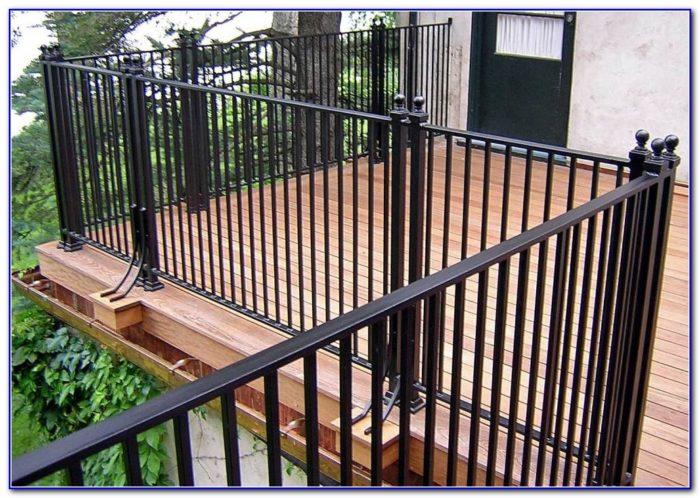 Deck Top Rail Ideas