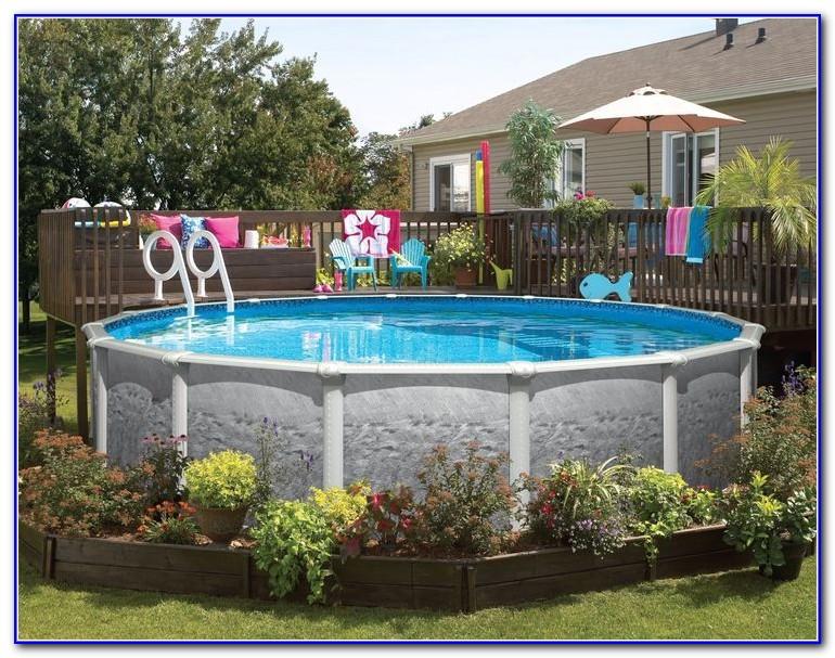 Decks Built Around Above Ground Pools