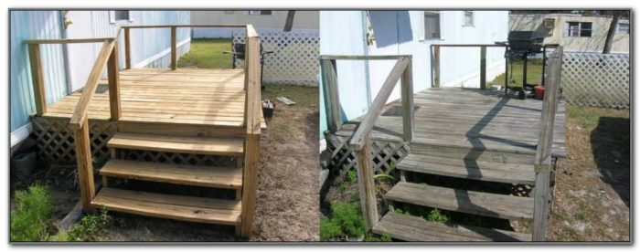 Decks For Mobile Homes