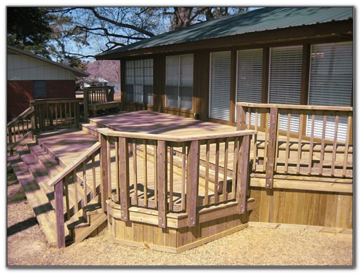Decks For Mobile Homes Pictures