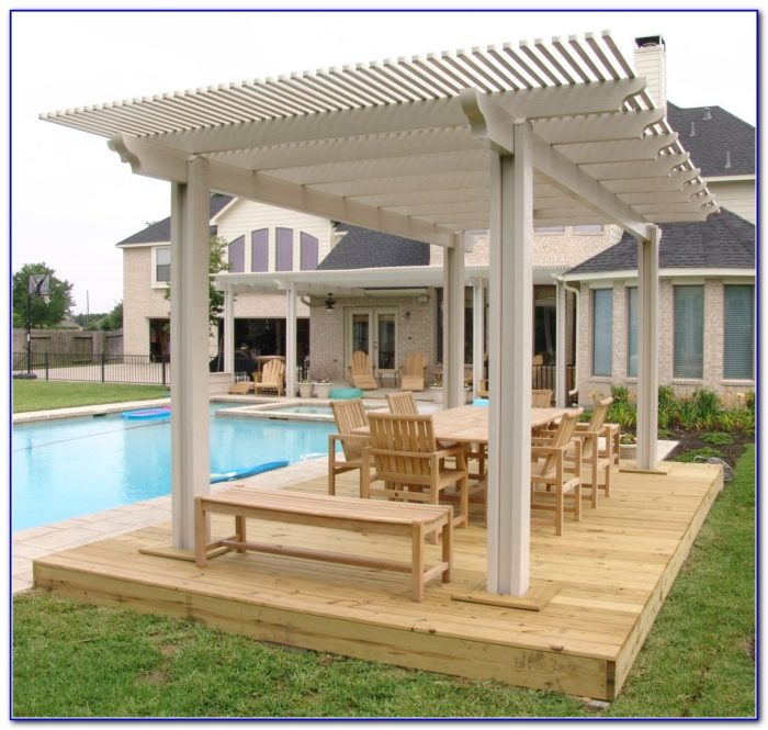 Decks With Roofs Plans