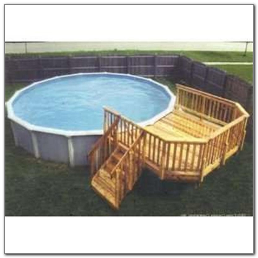 Diy Above Ground Pool Deck Kits