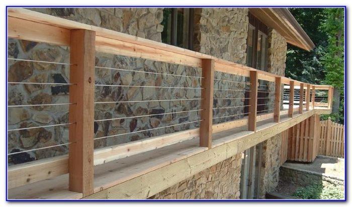 Diy Cable Deck Railing