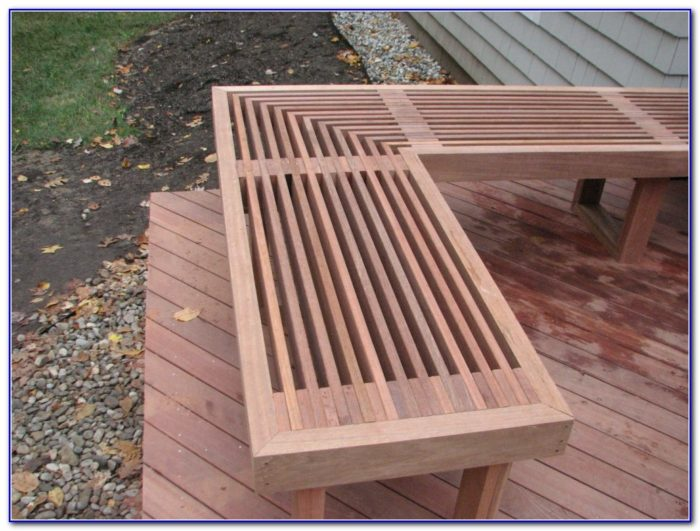 Diy Deck Bench Seating