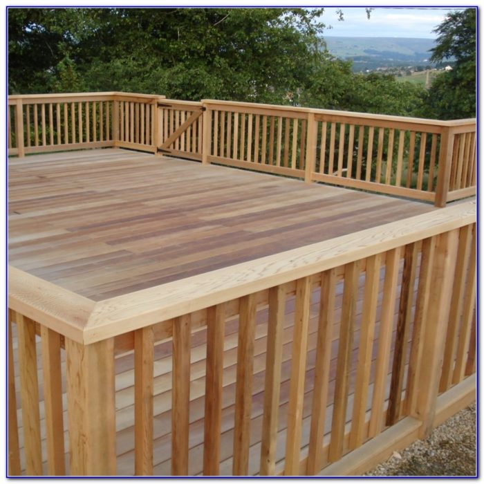 Diy Deck Railing Designs