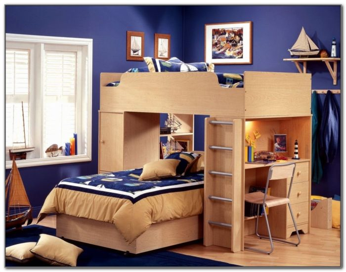 Double Deck Bed Designs For Small Spaces