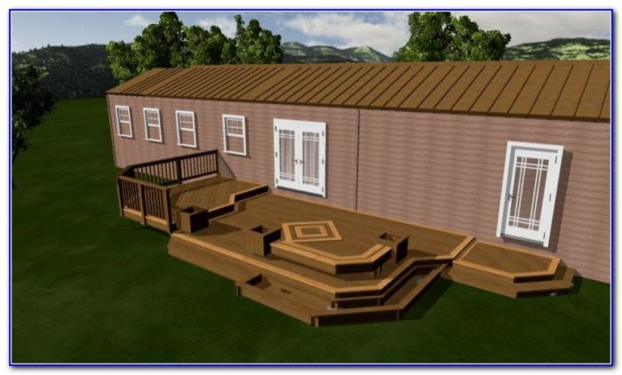Enclosed Deck Ideas For Mobile Homes