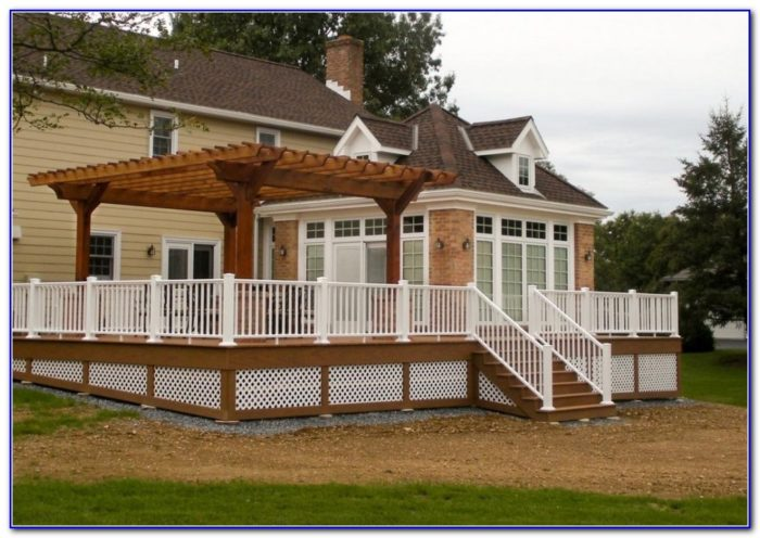 Enclosing A Deck Ideas