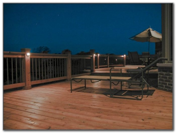 Exterior Deck Lighting Led