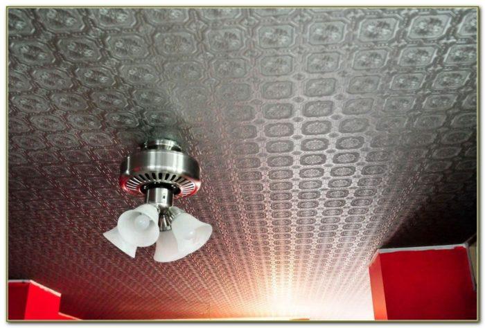 Fake Tin Ceiling Tiles Home Depot