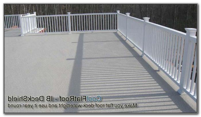 Flat Roof Deck Materials