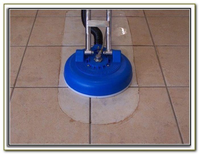 Floor Tile Scrubber Machine