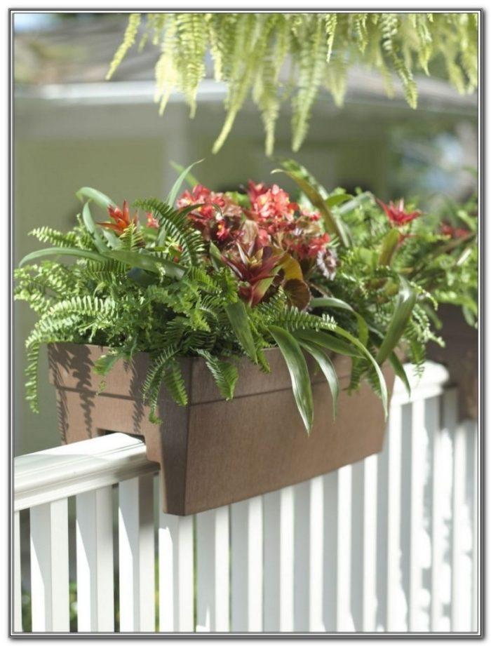 Flower Boxes For Decks