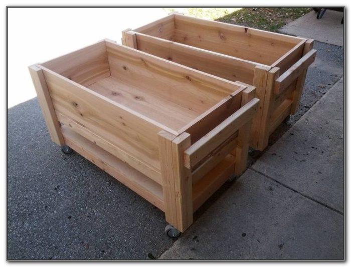 Flower Boxes For Decks Plans