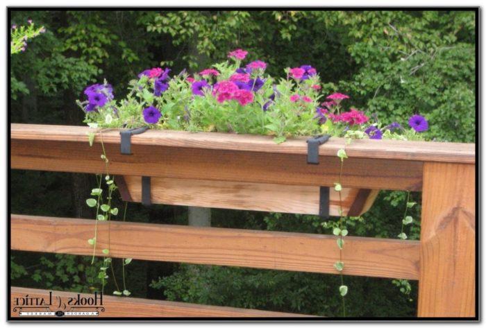 Flower Boxes For Decks Railings