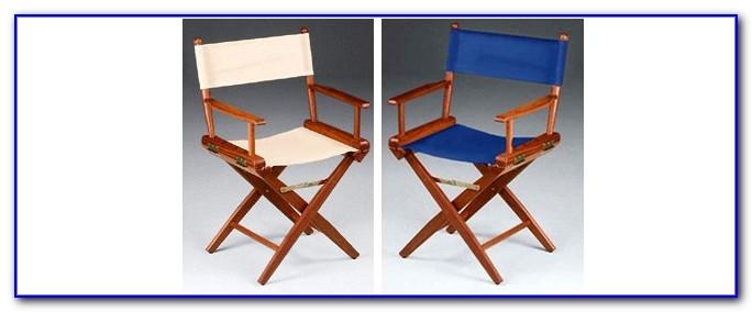 Folding Teak Deck Chairs