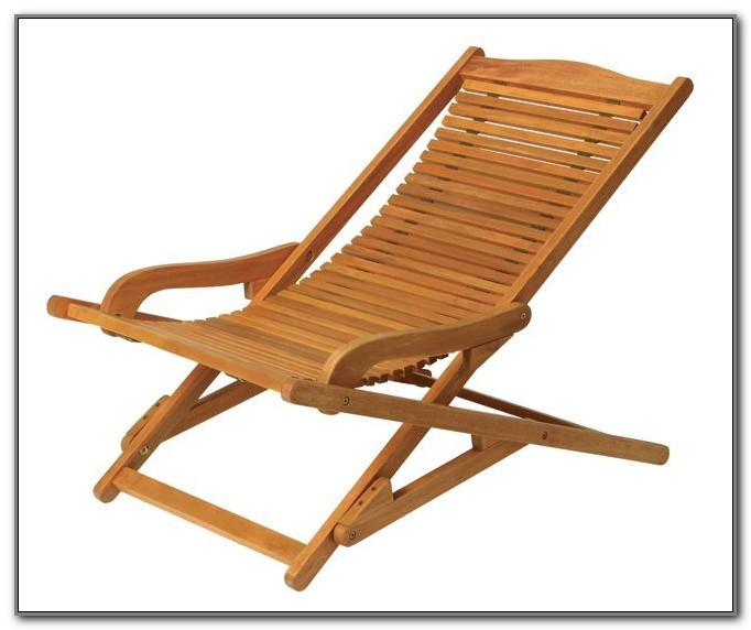 Folding Wooden Deck Chair Plans