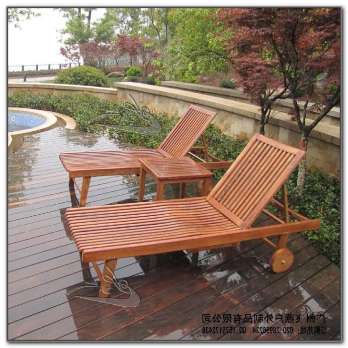 Folding Wooden Outdoor Chairs