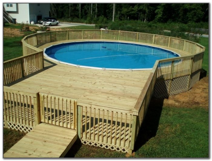 Free Pool Deck Design Plans