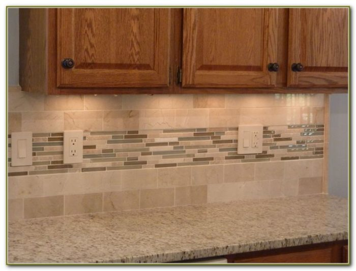 Glass Subway Tile Kitchen Backsplash Ideas