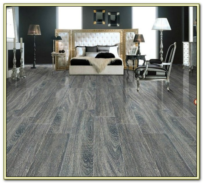 Gray Wood Grain Porcelain Tile