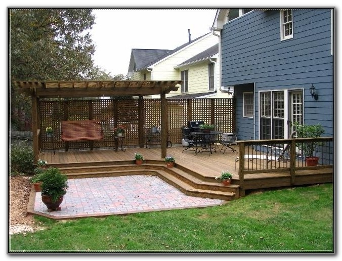 Ground Level Deck Design Ideas