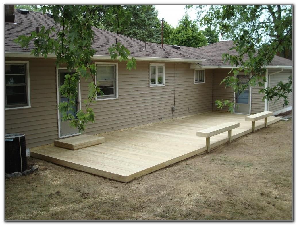 Ground Level Deck Designs