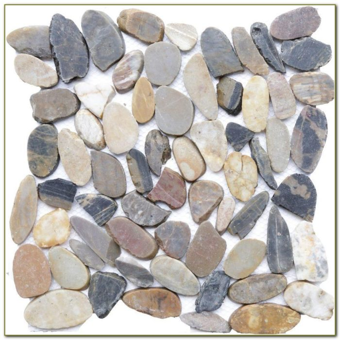 Home Depot Pebble Tile
