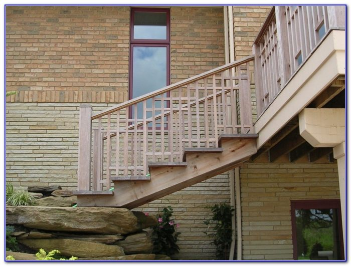 Horizontal Deck Railing Code