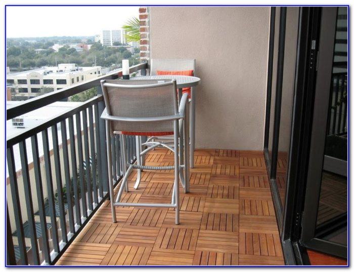 Ikea Deck Tiles On Concrete