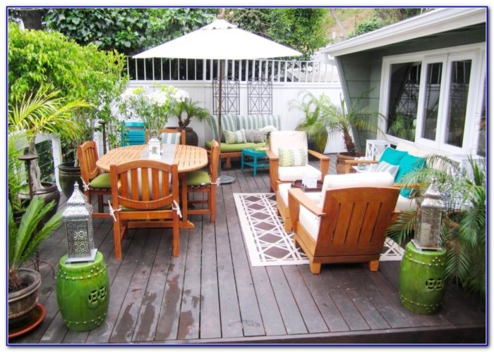 Inexpensive Deck Decorating Ideas