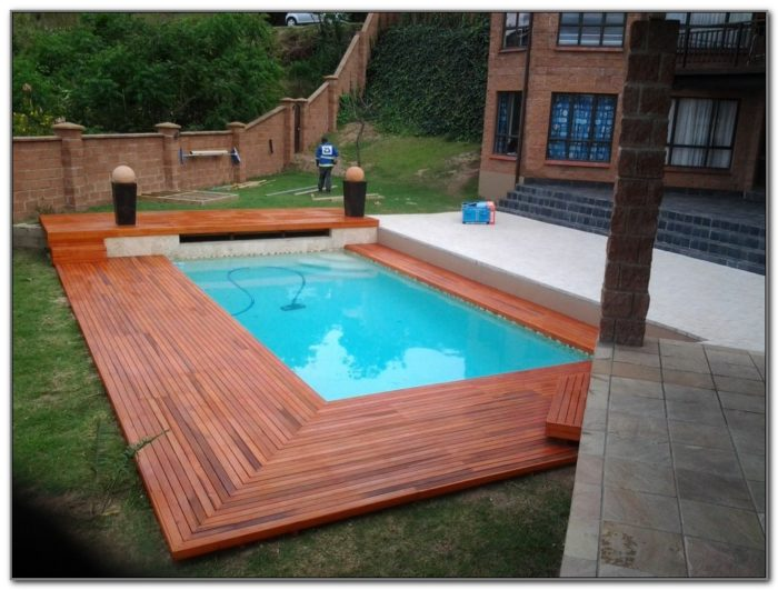 Inground Pool Deck Design Ideas